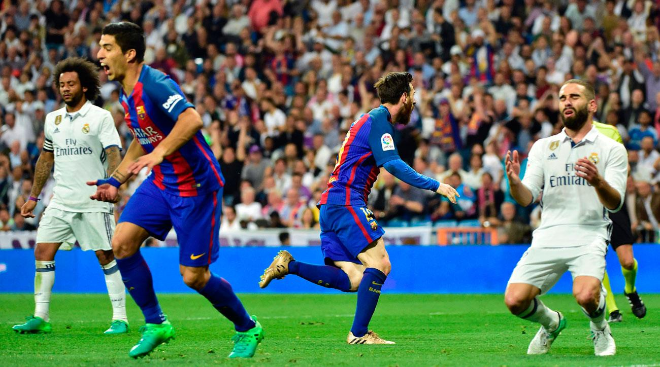 watch messi wins el clasico at the death leads barcelona over real madrid