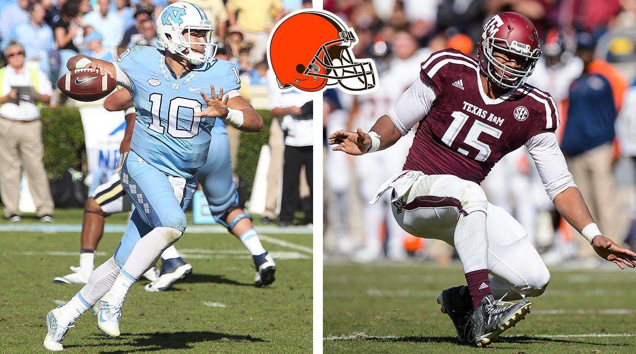 Mitch Trubisky and Myles Garrett would be quite the first-round haul for the Browns, who own both the No. 1 and No. 12 overall picks.