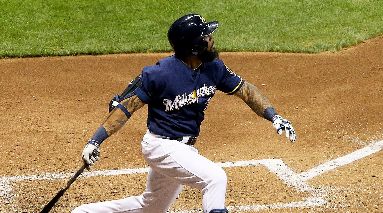 Milwaukee Brewers Eric Thames