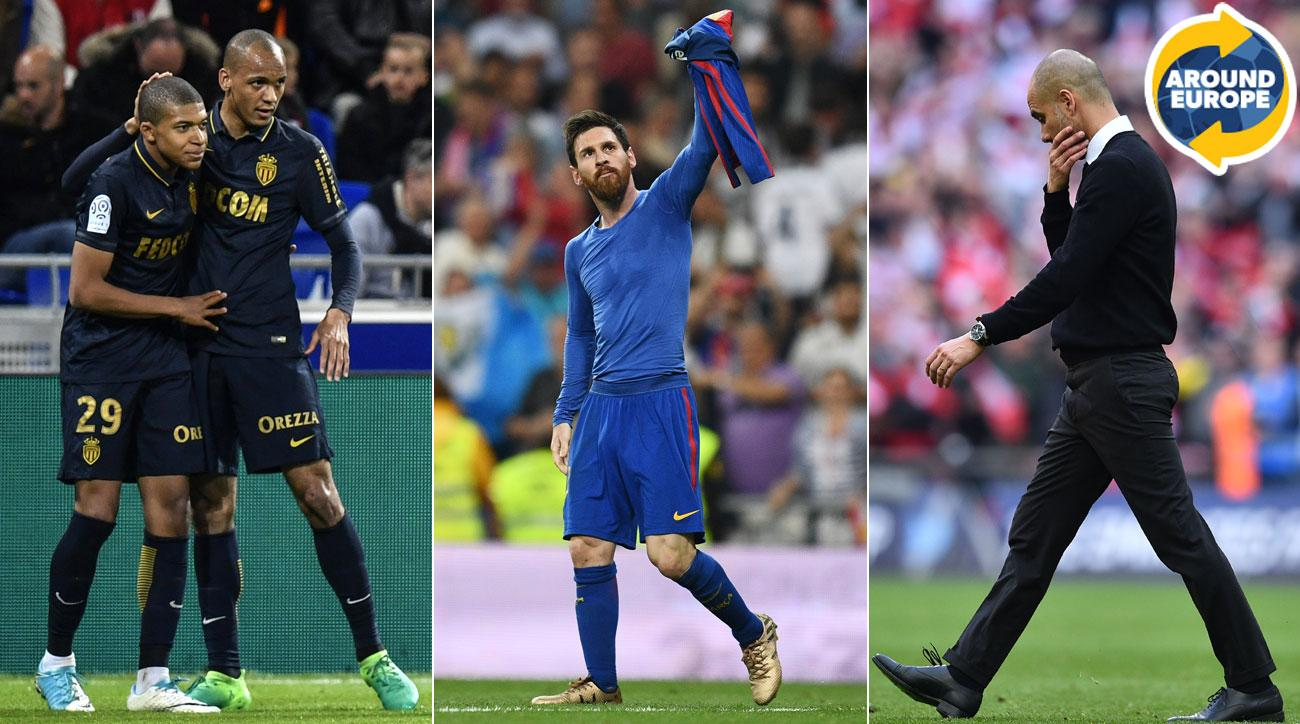 Kylian Mbappe, Lionel Messi and Pep Guardiola all made headlines over the weekend