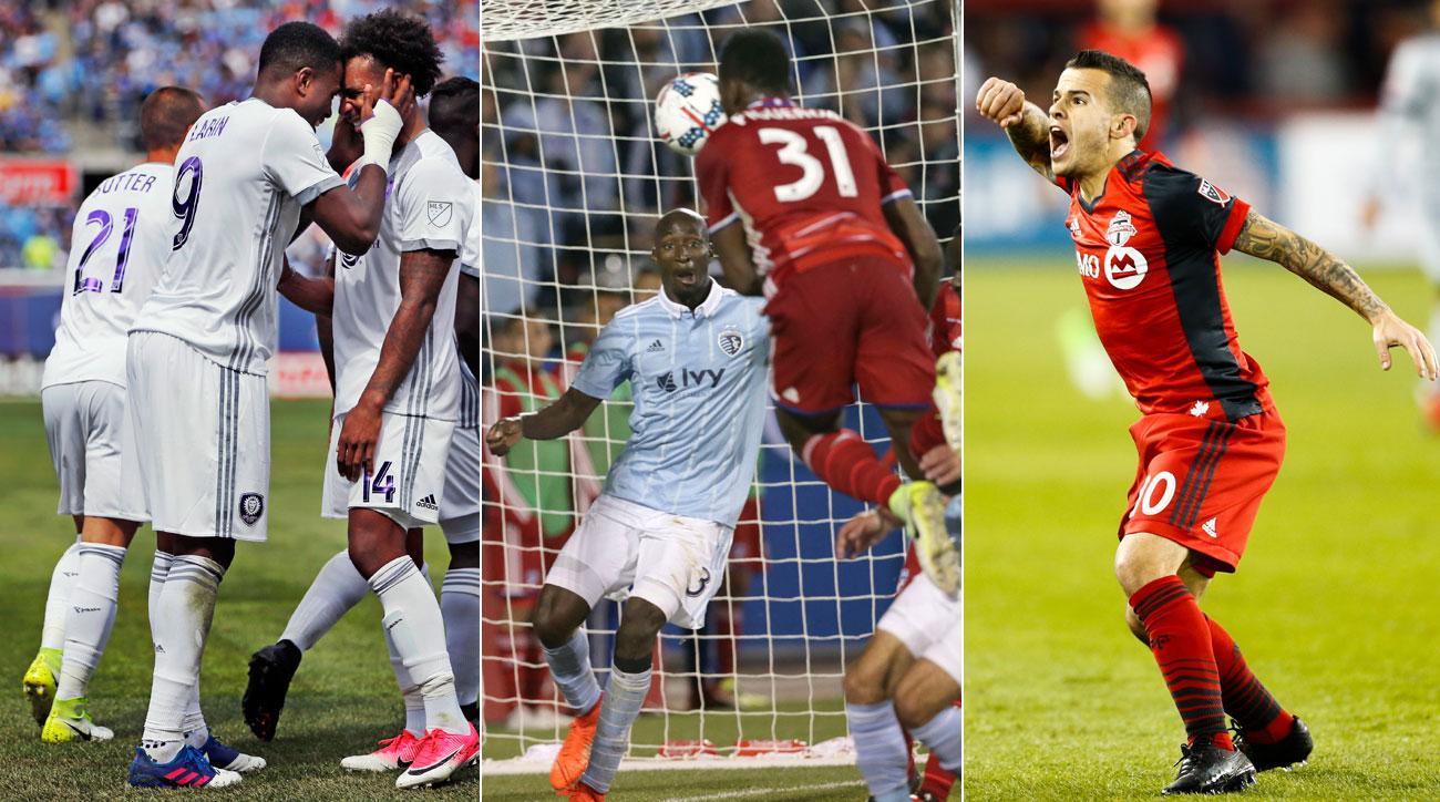 Cyle Larin, Maynor Figueroa, Sebastian Giovinco score key goals in MLS Week 8