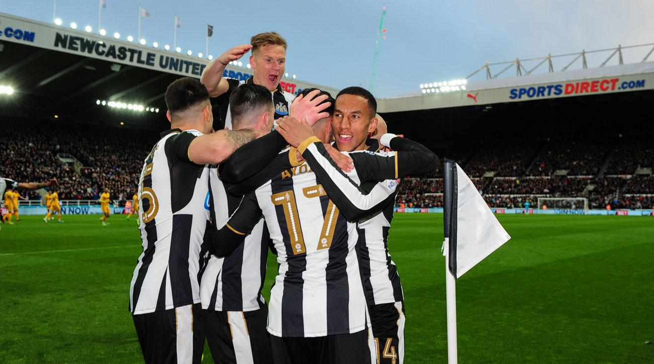 Newcastle United are promoted back to the Premier League
