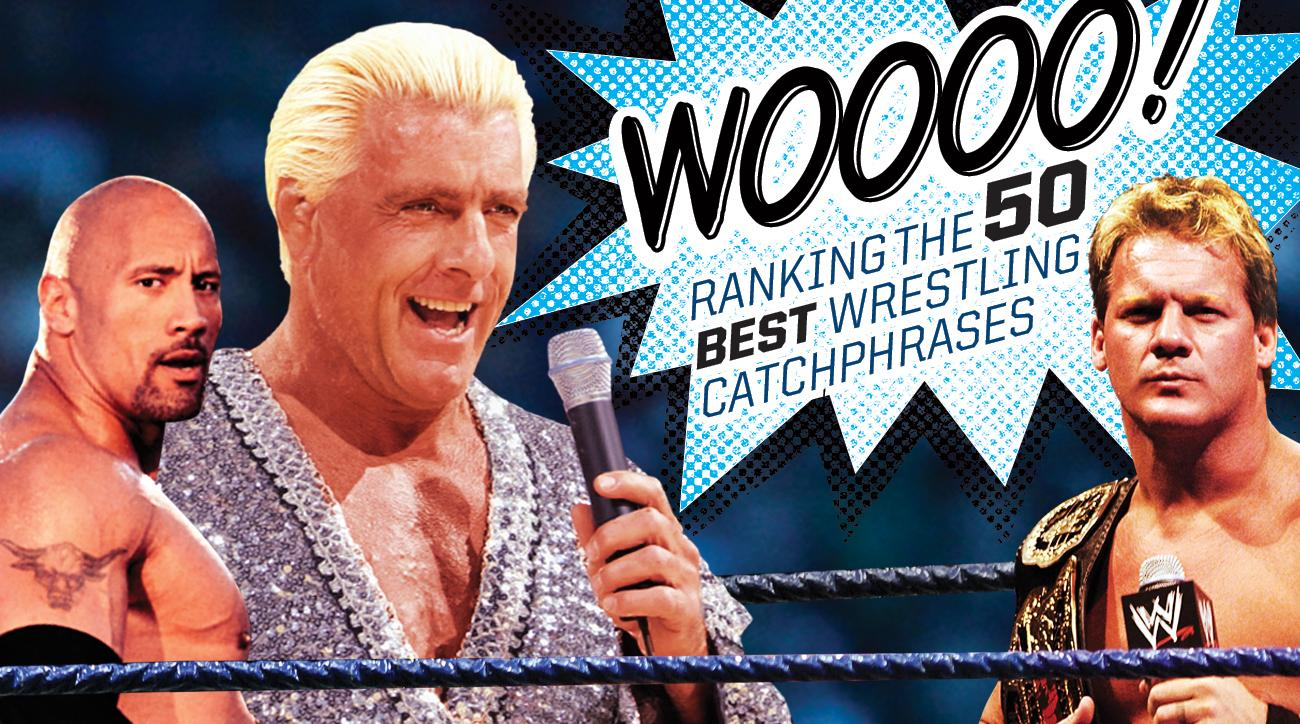 best wwe wrestling catchphrases ever the rock ric flair si com