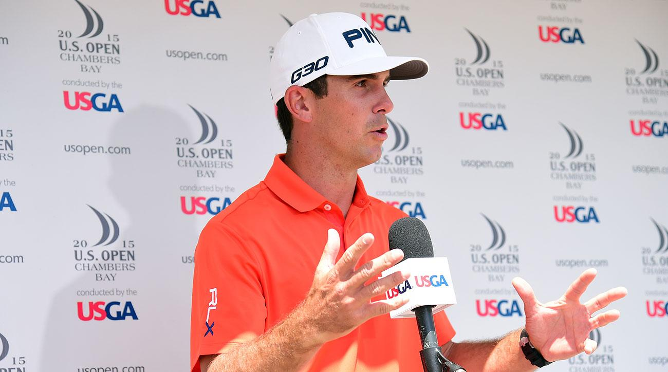 Billy Horschel criticized the course conditions and play setup of the 2015 U.S. Open Championship at Chambers Bay.