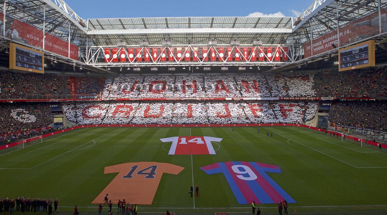 Amsterdam will name its stadium after Johan Cruyff