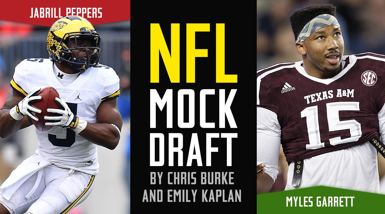 NFL Mock Draft 2017: First-round order, trade rumors, predictions, picks