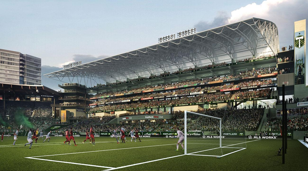 The Portland Timbers are renovating Providence Park