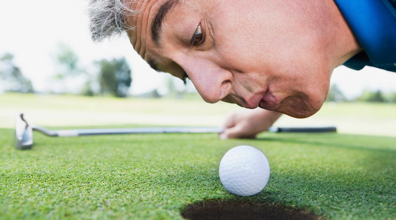 Sixty percent of golfers admit to breaking the rules regularly.