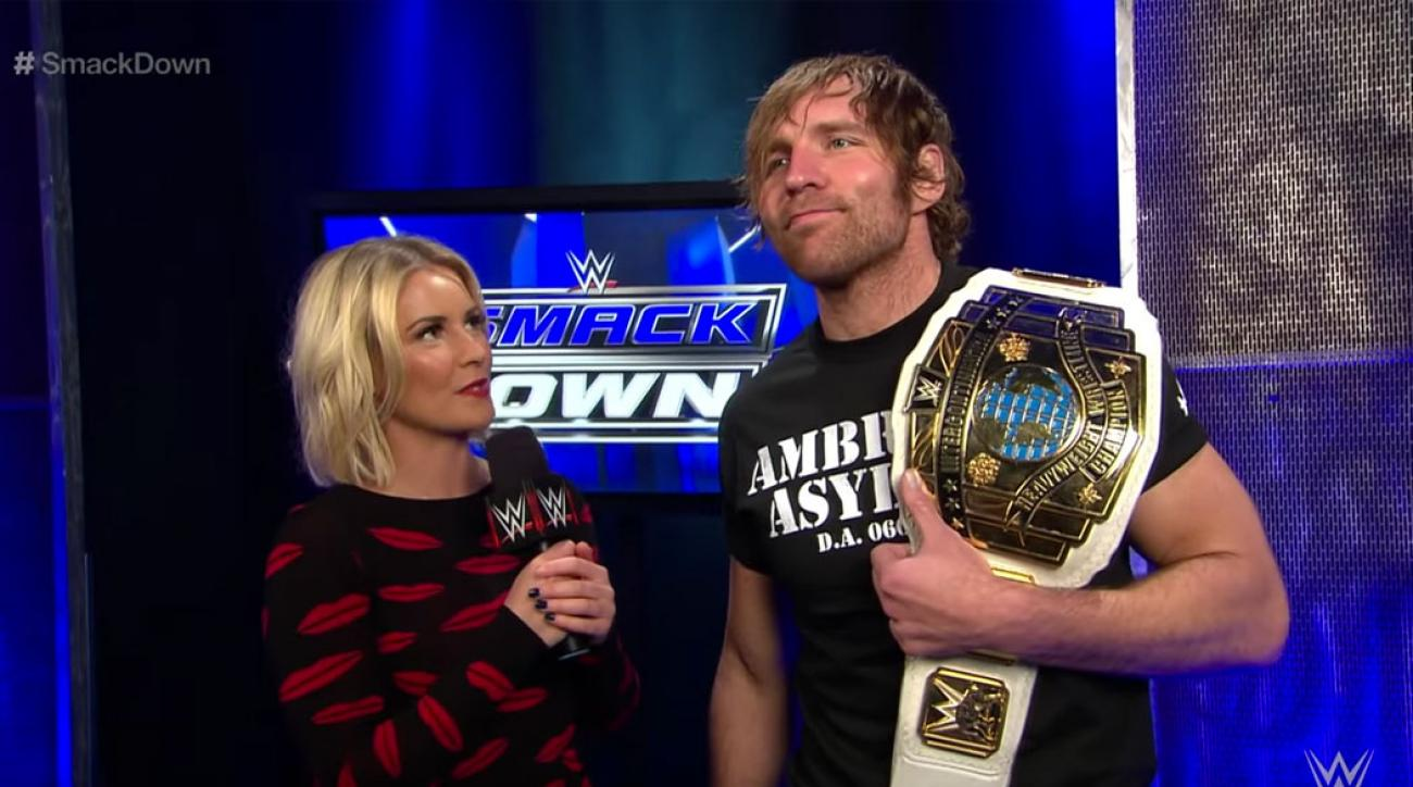 WWE's Dean Ambrose and Renee Young's weird wedding | SI com