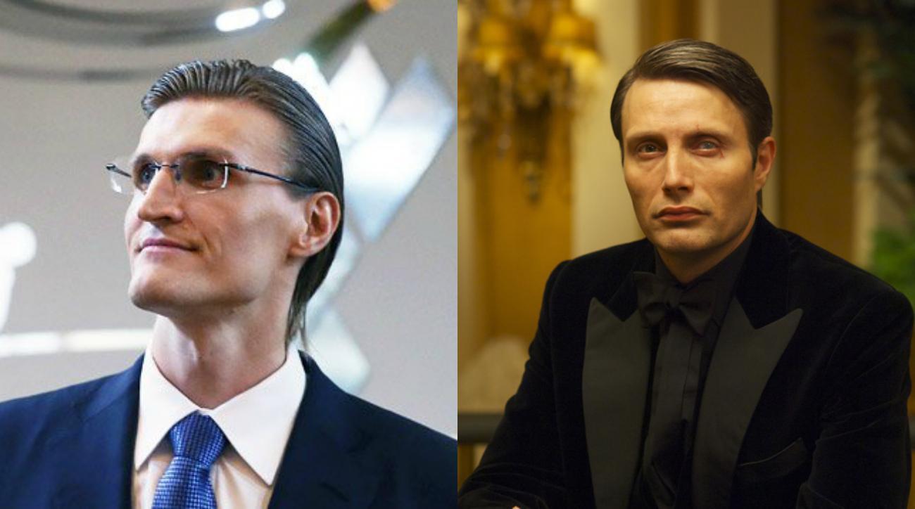 Andrei Kirilenko looks like a Bond villain now  367a43625