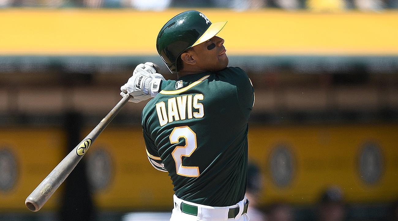 Oakland Athletics Khris Davis