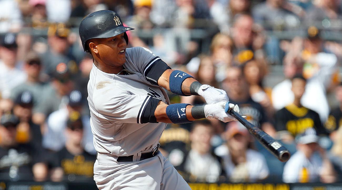 New York Yankees Starlin Castro