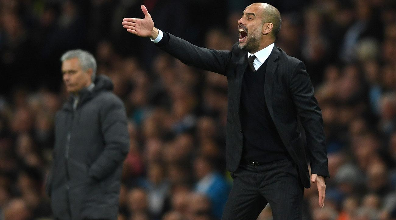 Pep Guardiola and Manchester City played to a 0-0 draw vs. Manchester United
