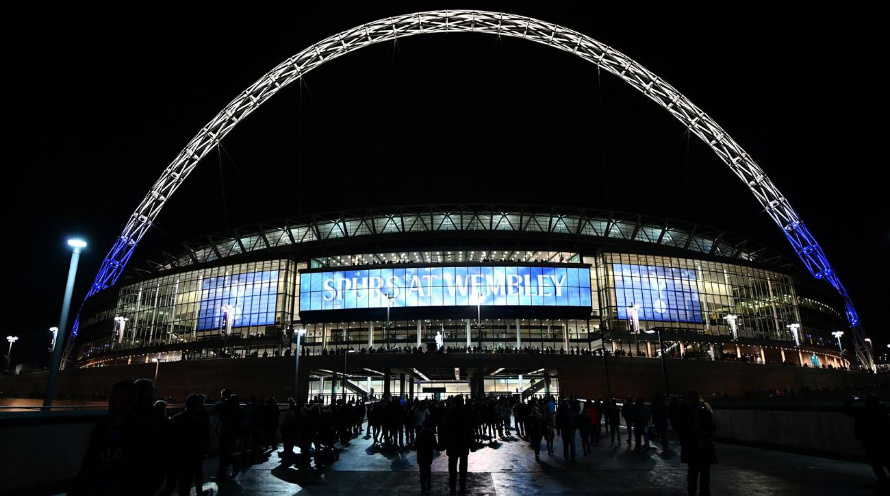 Tottenham will play its home matches at Wembley Stadium next season