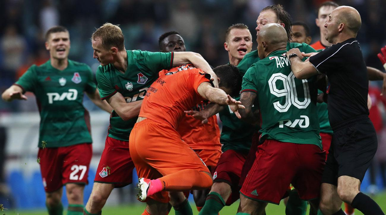 Lokomotiv Moscow, Ural fight in the Russian Cup final