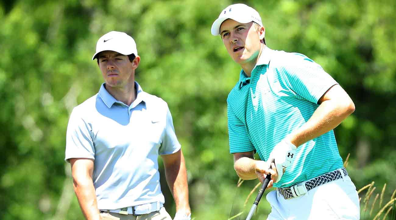 Rory McIlroy has two more majors than Jordan Spieth, but Spieth is younger.