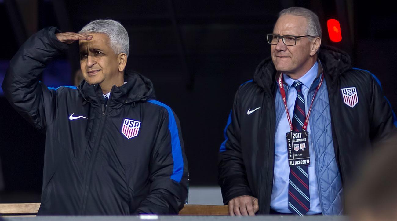 US Soccer president Sunil Gulati and CEO Dan Flynn