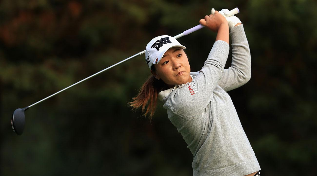 Lydia Ko edged hometown favorite Ana Menendez 3 and 2 during Day 1 of the 2017 Lorena Ochoa Match Play.