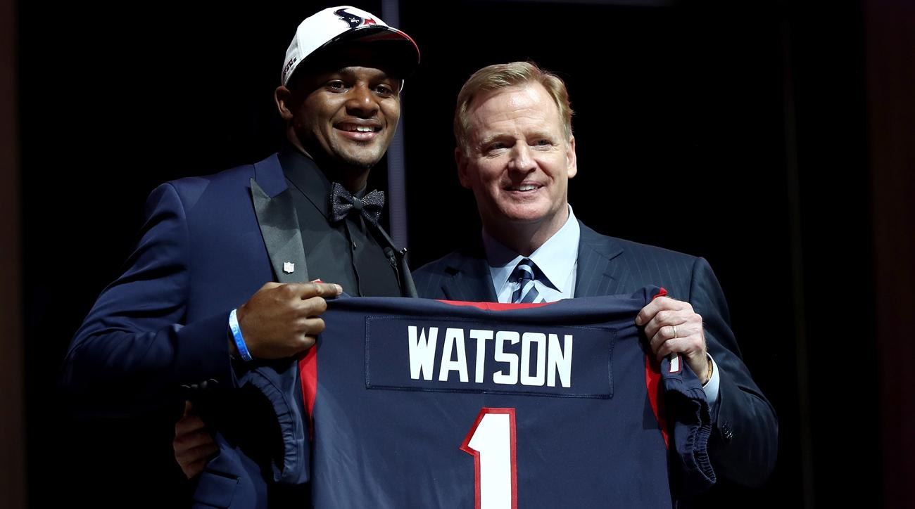 Deshaun Watson had a big night at the draft in part because of an even bigger night he had in early January.