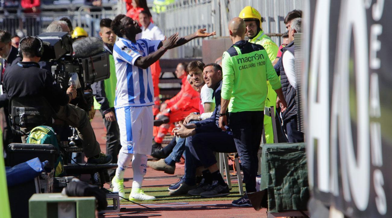 Sulley Muntari's ban for protesting racism was lifted