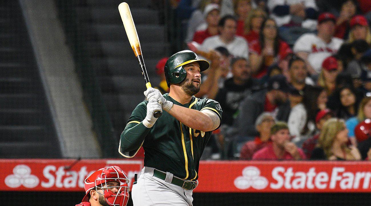 Oakland Athletics Yonder Alonso