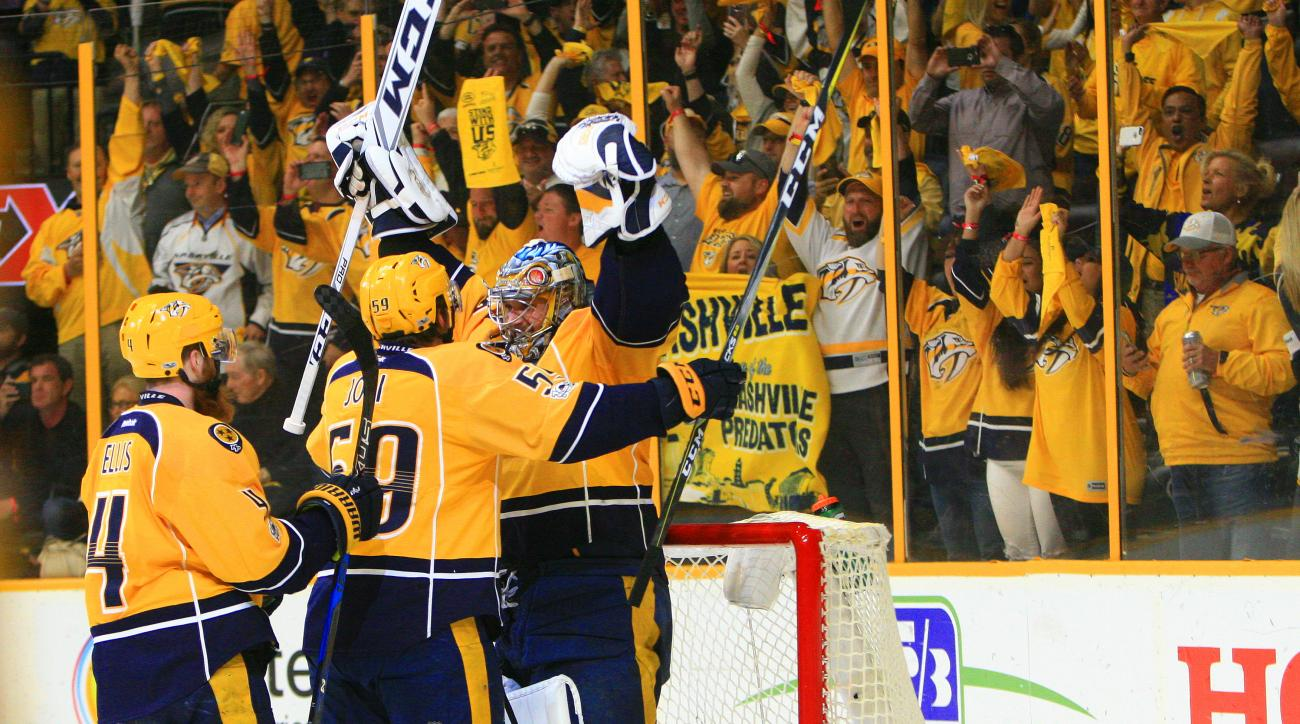 Nashville Clinches First-ever Conference Finals Trip