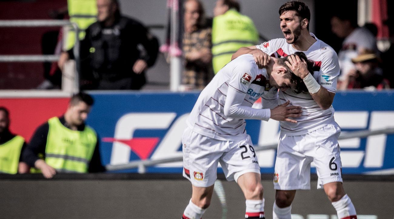 Bayer Leverkusen fights relegation in the Bundesliga