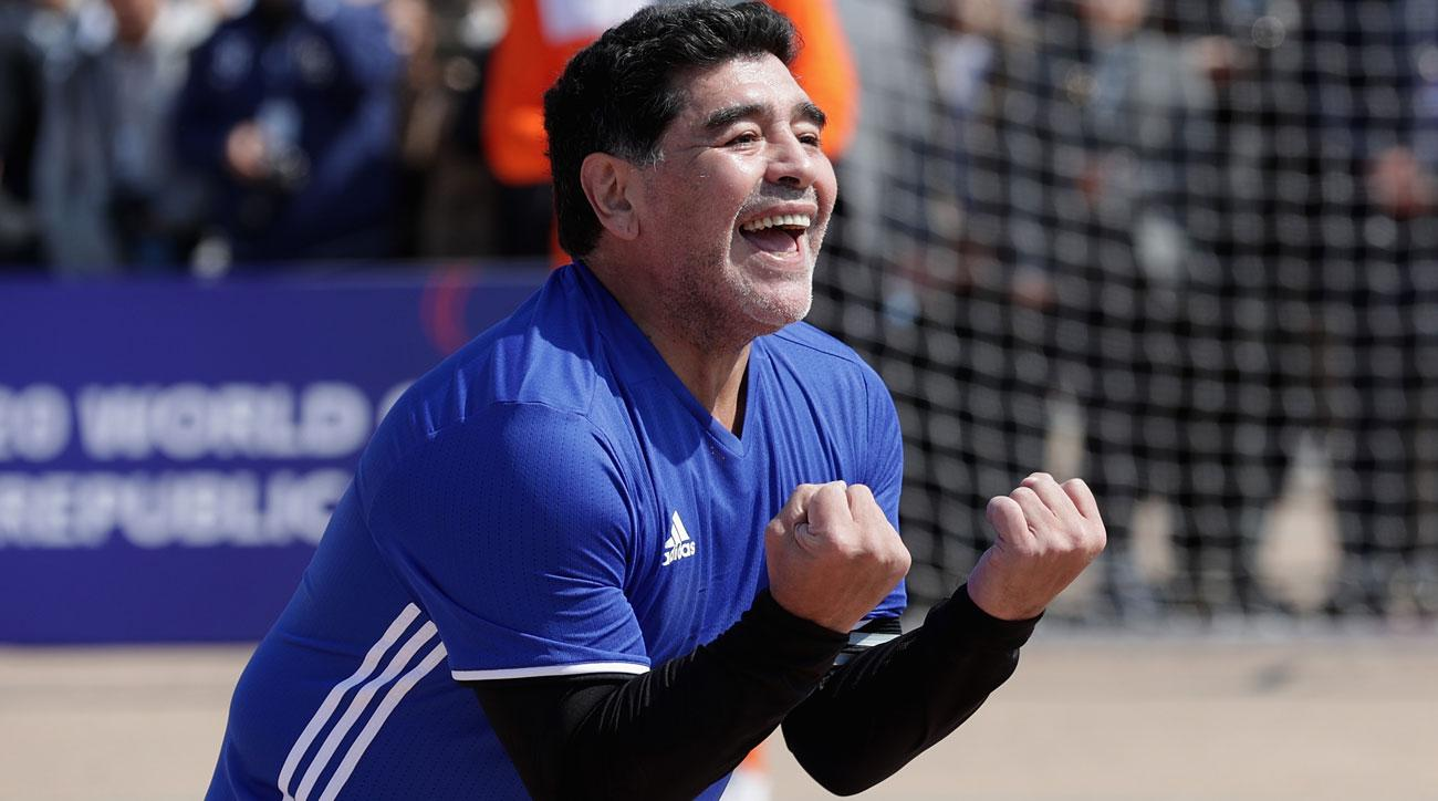 Maradona to coach UAE second division side
