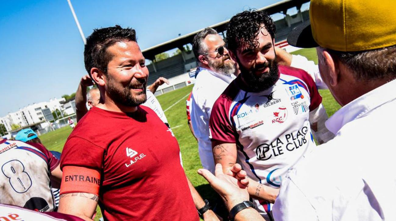 French rugby coach saves fan's life during match