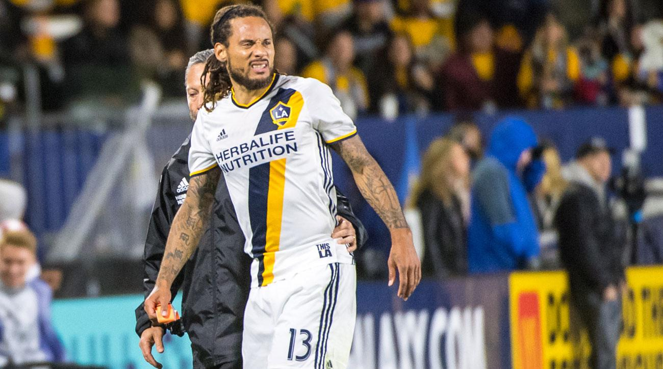 Jermaine Jones will miss the next 3-4 weeks with a sprained MCL