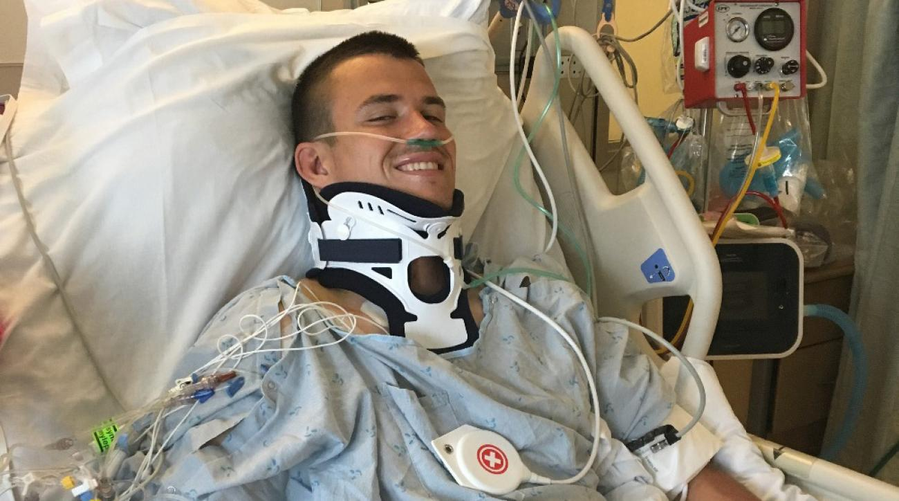 Cal rugby player Robert Paylor injured, paralyzed