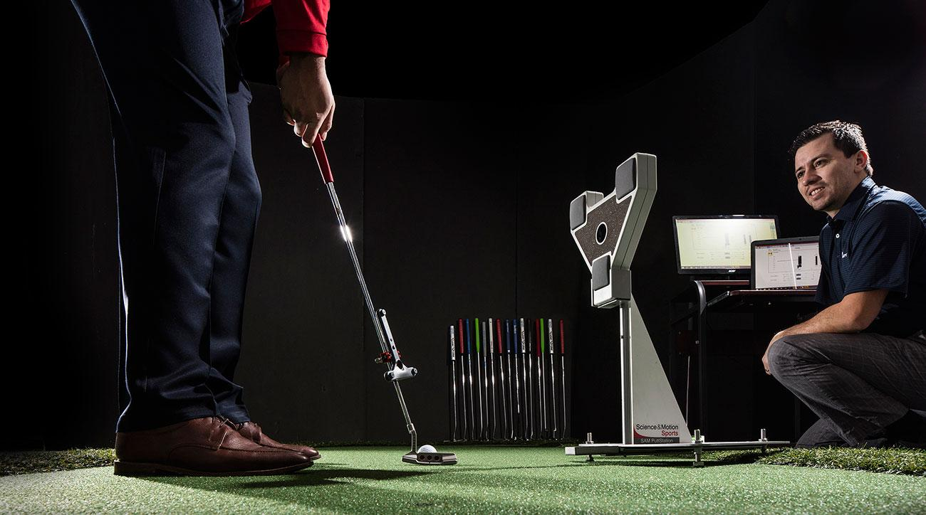 Club Champion fitters (clubchampiongolf.com) used the SAM PuttLab to ensure our putting testers were properly fit.