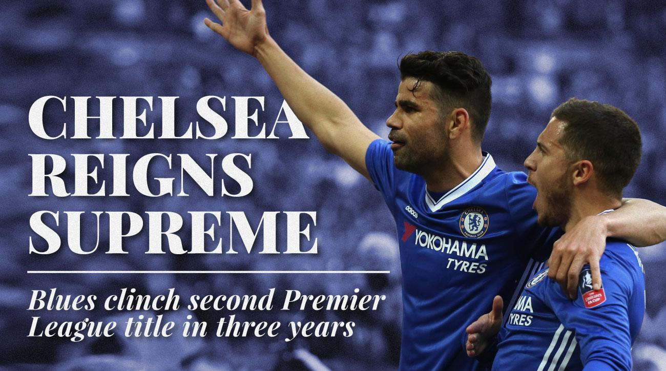 Chelsea wins the Premier League title for a fifth time