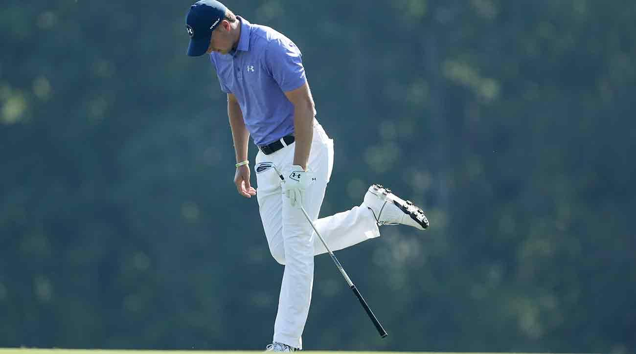 Jordan Spieth shot a one-over 73 in the first round of the Players.