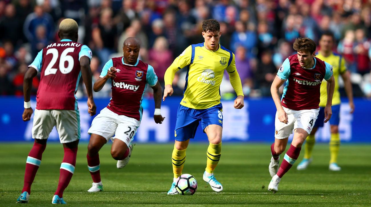 Ross Barkley's Everton future is up in the air