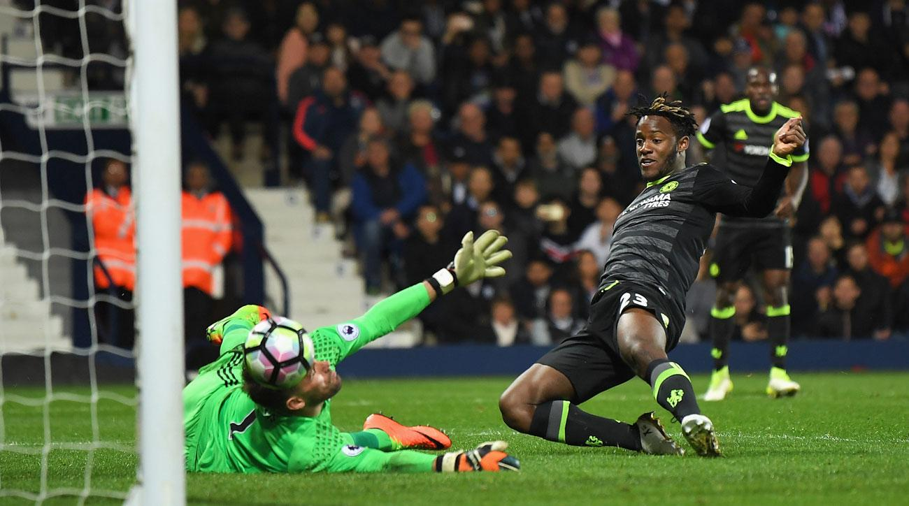 Michy Batshuayi scores a potential title-winning goal for Chelsea