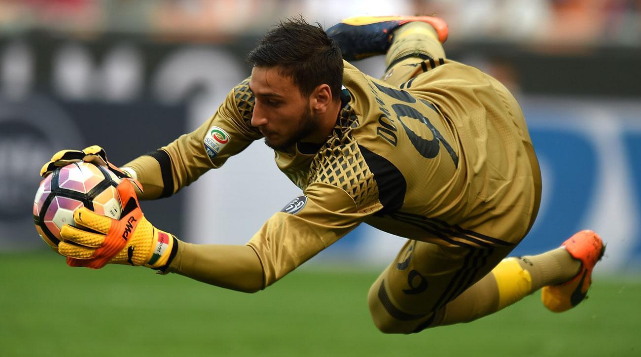 AC Milan's Gianluigi Donnarumma is the heir to Italy's goalkeeping throne