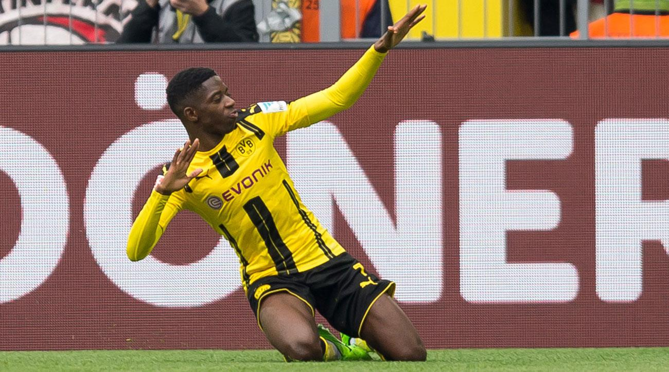 Ousmane Dembele has starred for Borussia Dortmund at just 19