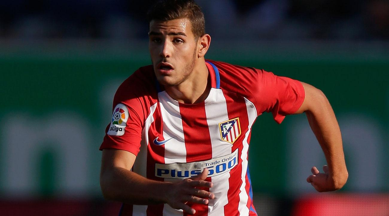 Theo Hernandez is a rising star for Atletico Madrid