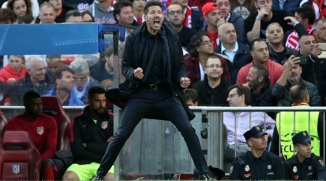 Diego Simeone could leave Atletico Madrid with a year to run on his contract