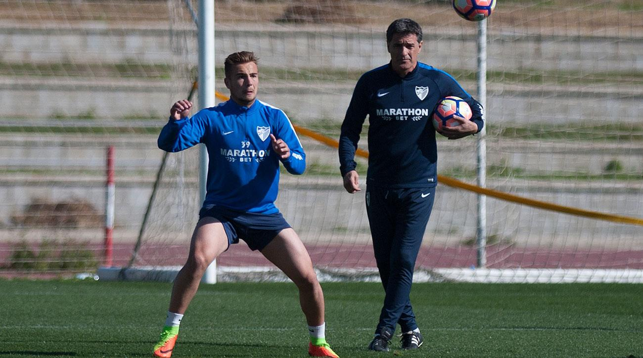 Javier Ontiveros is a rising star for Malaga and Spain