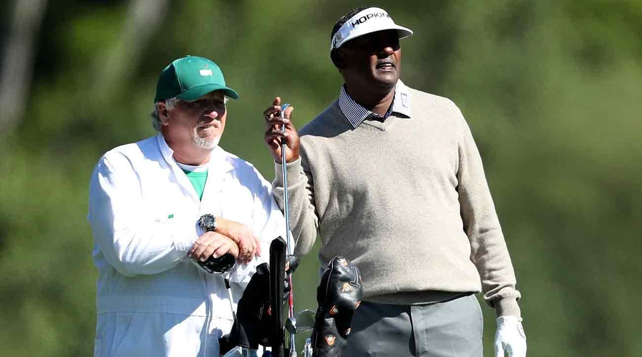 Vijay Singh and Kip Henley worked together at the Masters, but their relationship didn't last much longer after Augusta.