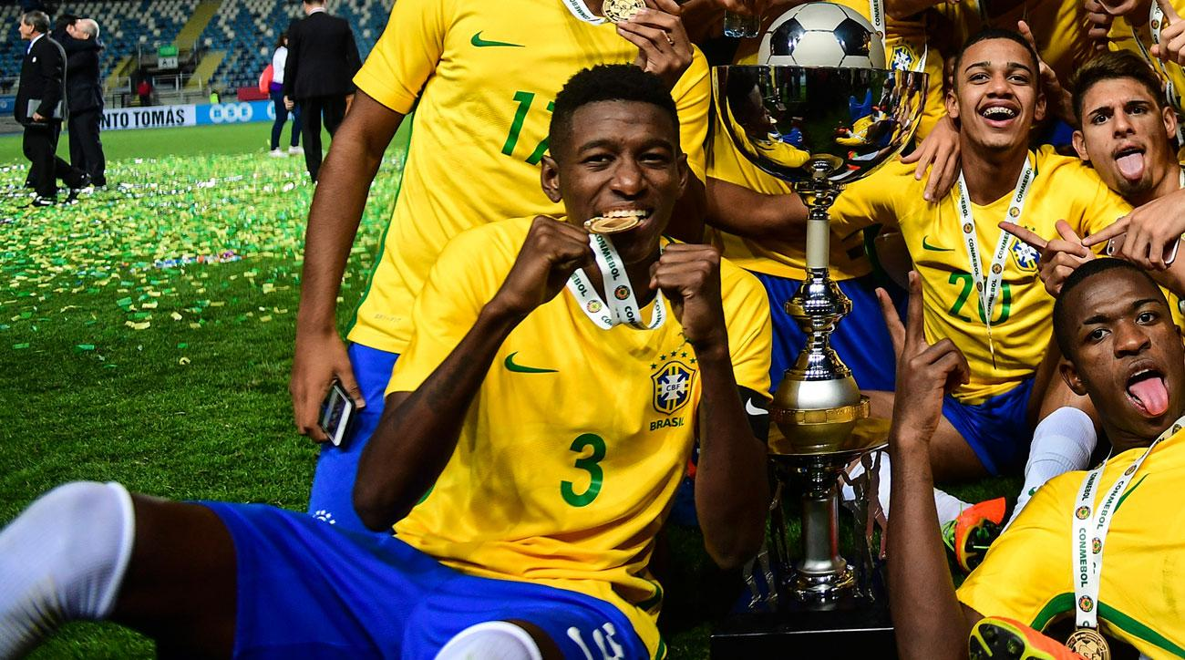 Palmeiras's Vitao is a rising star for Brazil