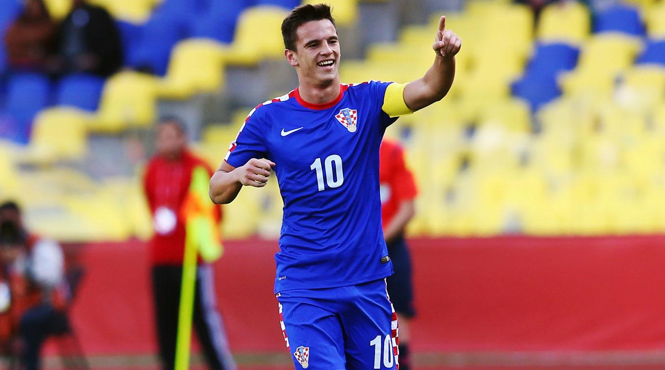 Nikola Moro is a rising star for Croatia and Dinamo Zagreb