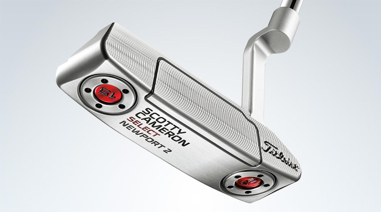 Titleist Scotty Cameron Select Newport 2 putter.