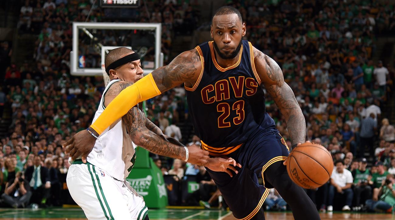 NBA Playoffs LeBron Leaves Celtics Awestruck After Game 1