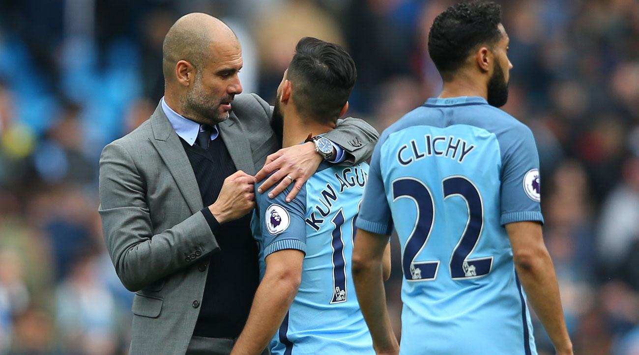 Will Sergio Aguero stay at Manchester City Pep praises striker