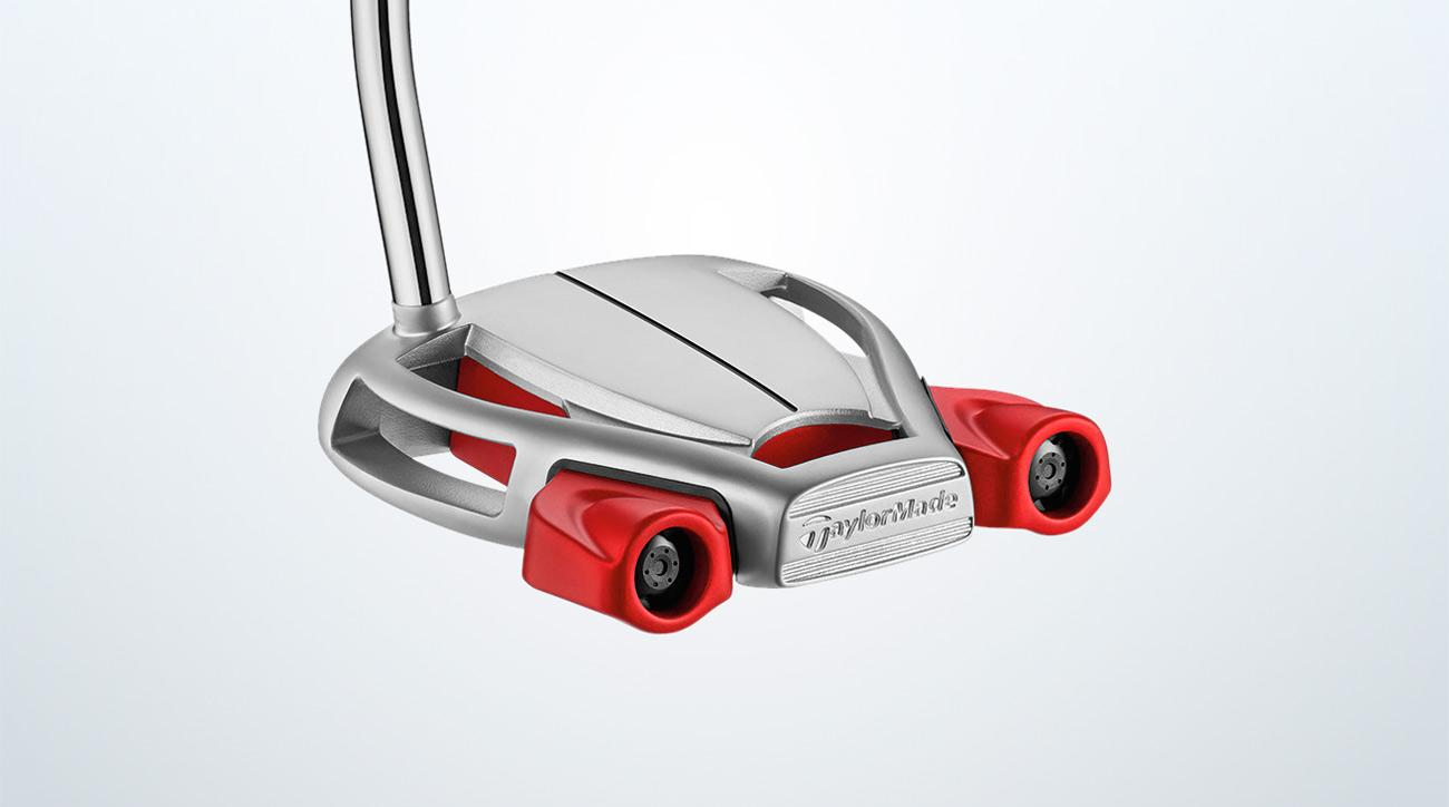 TaylorMade Spider Tour Platinum putter.