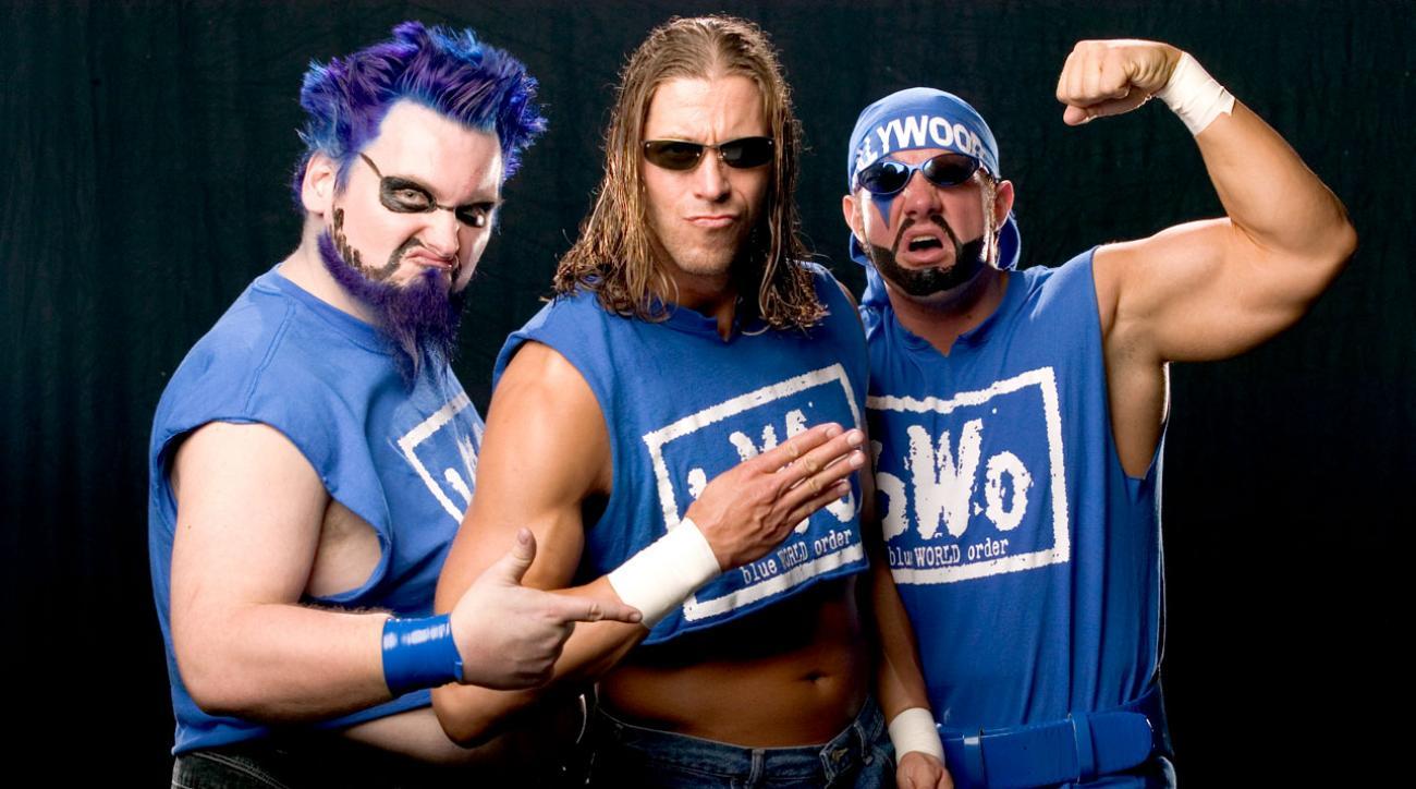 ECW's Blue Meanie on Philadelphia Phillies