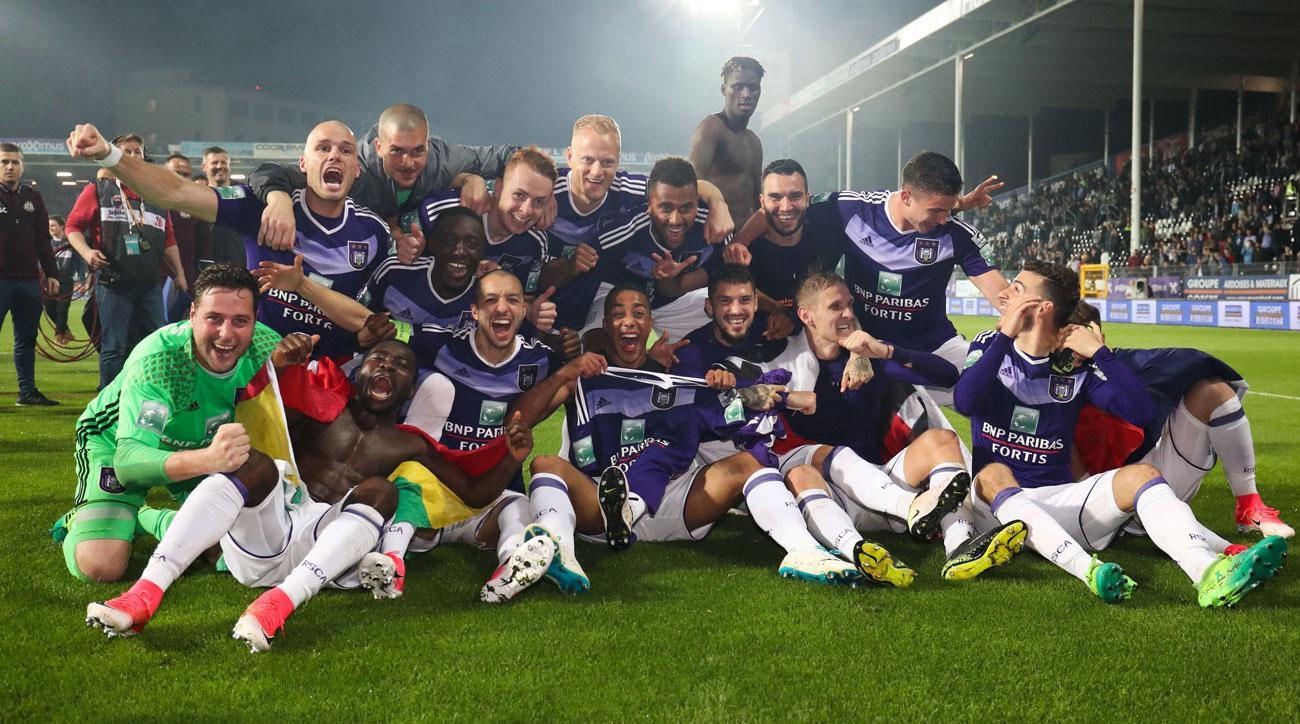 Anderlecht wins another Belgian league title